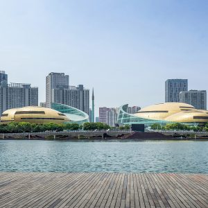 项目巡礼丨No.1 经典工程解析:远大造,河南艺术中心(金属屋面介绍NO.1)