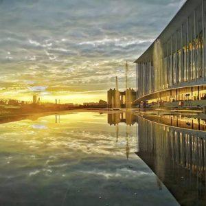 资讯丨Inhabit分享 , GMP设计西安丝路国际会议中心幕墙设计与施工