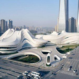 项目巡礼丨耗资28亿!扎哈在中国的最后遗作终于全部完成!施工难度堪比鸟巢!