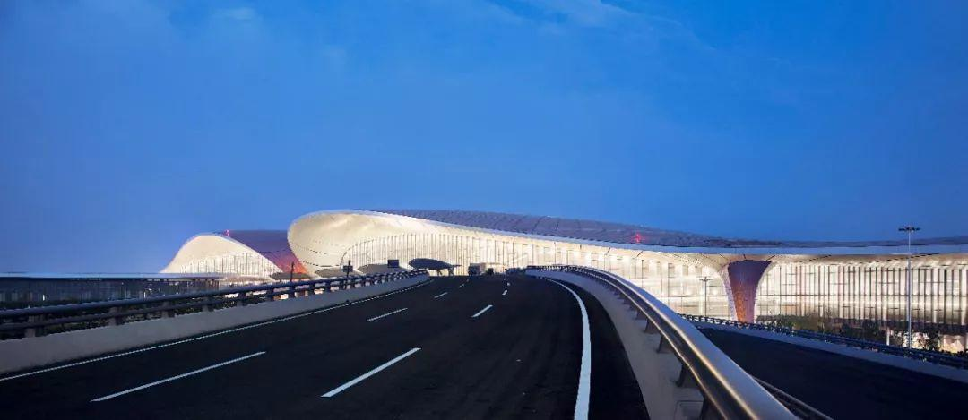 北京大兴国际机场全貌!