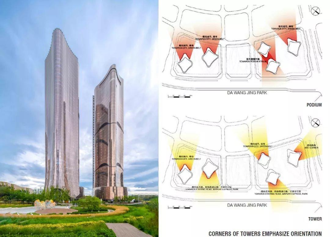 Aedas设计 | 北京门户新地标,现代有机的都市绿洲