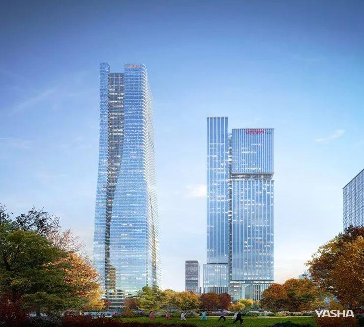 """喜讯丨亚厦幕墙中标济南平安金融中心项目""""亿级""""工程"""