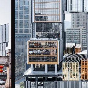 """项目巡礼丨No.14 Aedas新作:长沙坡子街上的微城市,将""""霸蛮""""进行到底"""