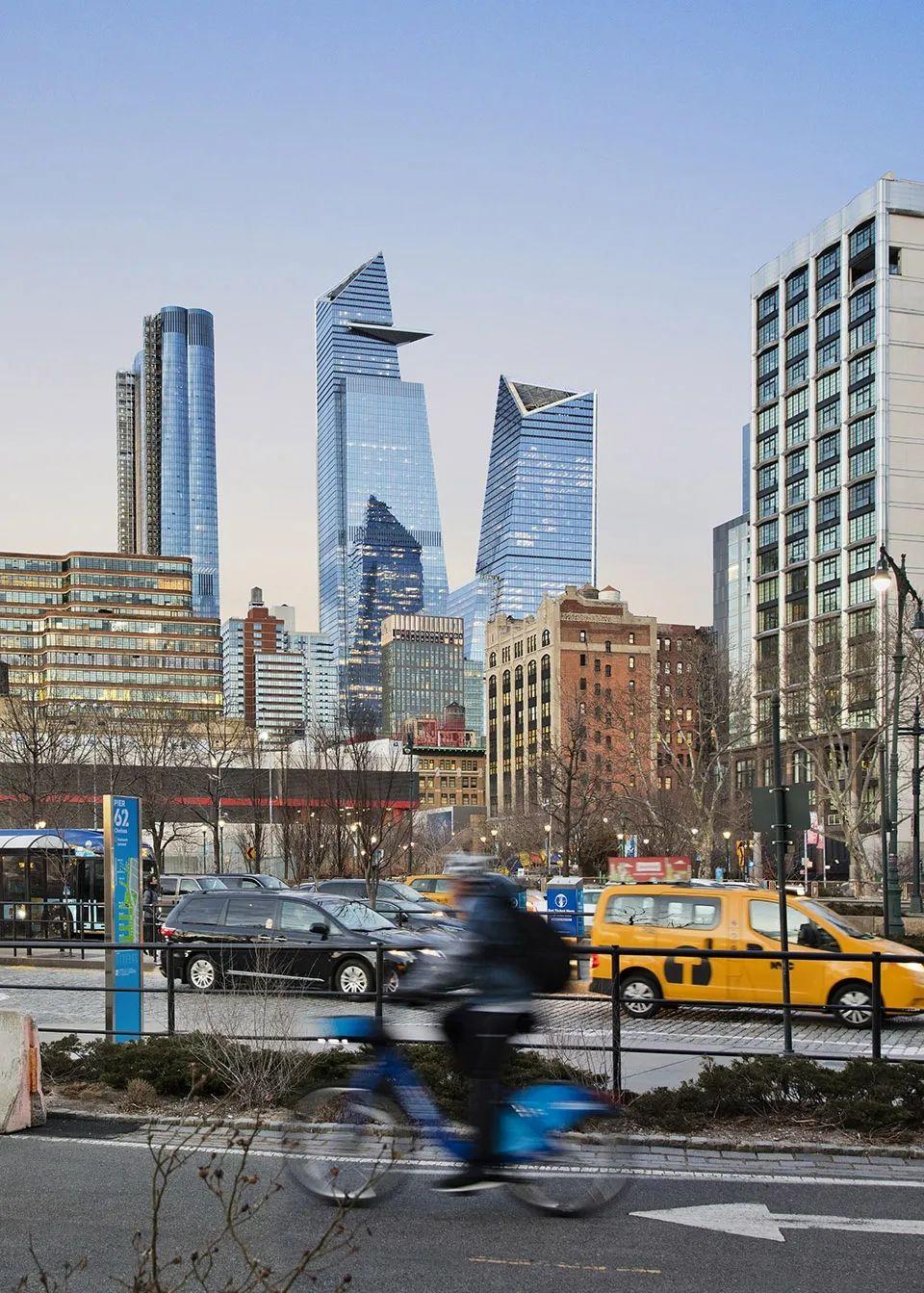 """有动图!西半球最大观景台:KPF纽约力作""""Edge观景台""""开放竣工!"""